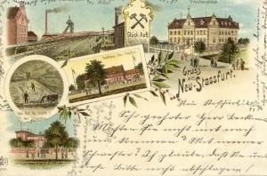 Gruß aus Neu Staßfurt 1899