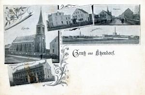 Ansichtskarte um 1910