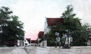 """die """"Friedenseiche"""" um 1900"""