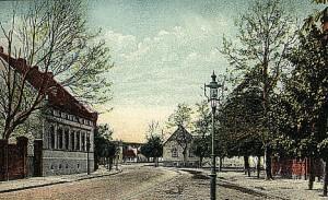 Güstener Straße um 1900