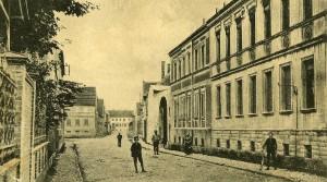 Lange Straße, heute Bauernstraße