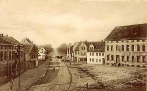 Magedeburg-Leipziger Straße  gegen Ende des 19.Jahrhunderts