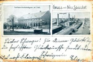 Gruß aus Neu Staßfurt 1904